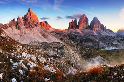 Jeep supported hiking Landmarks of the Dolomites