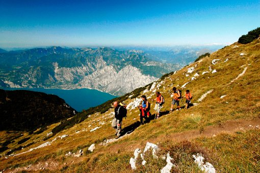 2000 Meters Above Lake Garda Hut to Hut Hiking